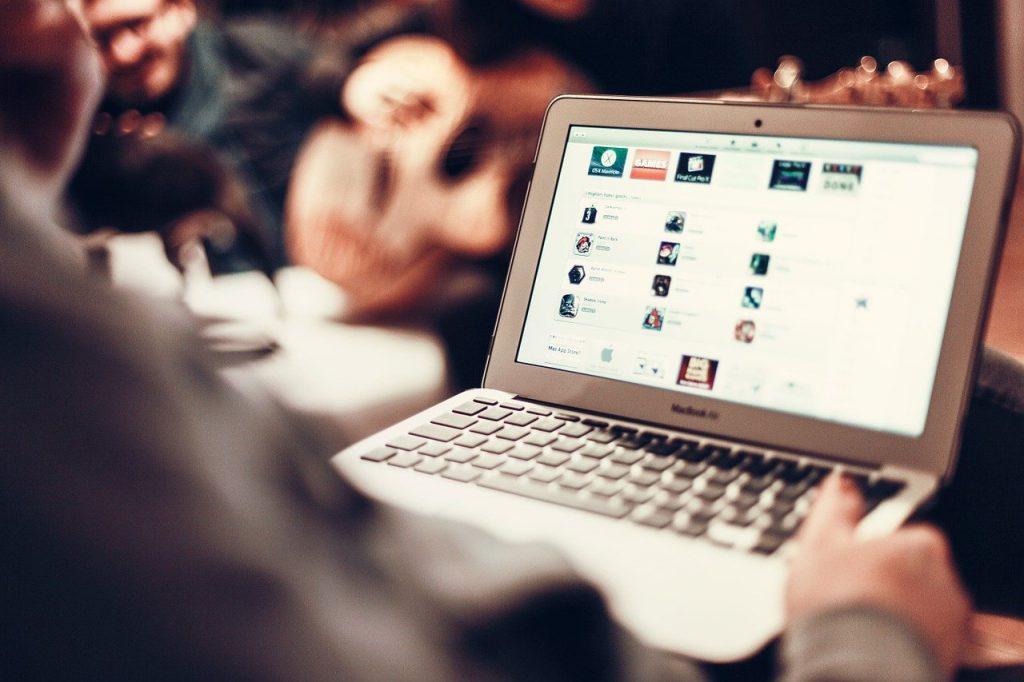 macbook, notebook, apple